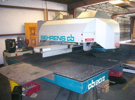 BEHRENS coordinate punching machine with programmed numerical control.