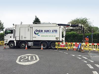 Utilities roadworks