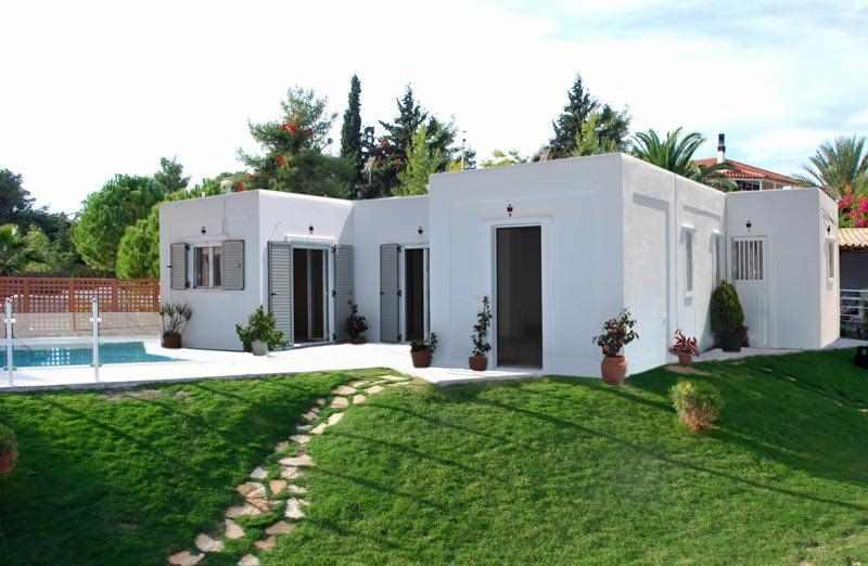 Prefabricated houses in Greece