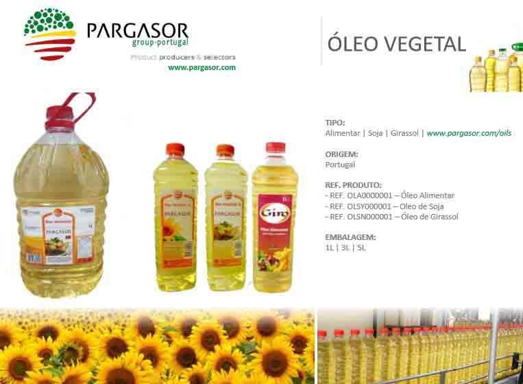 Óleo Alimentar | Soja | Girassol