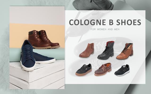Cologne B Quality Shoes Mix