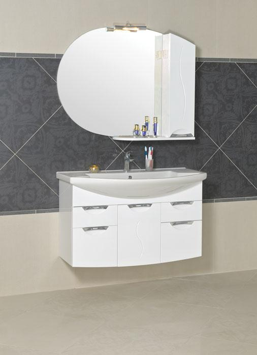 High-quality bathroom furniture, wash-basins Turkuaz, frontispieces made from MDF, casing from chip board Egger, wide range of sizes from 45 to 108cm, paint ICA, fittings Blum. Warranty 24 months.