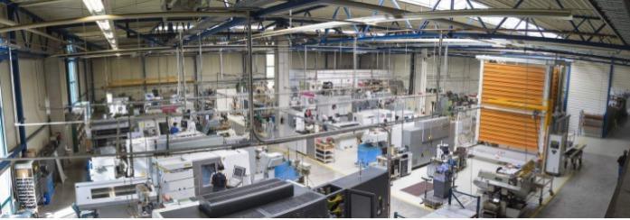 Produktionshalle / BIAX Maulbronn