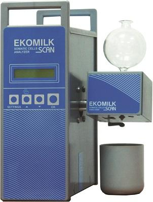 The Somatic Cells Milk analyzer Ekomilk Scan is designed for fast and cost effective control of milk quality in dairy farms and dairy enterprises.