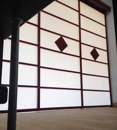 panneaux japonais sur mesure