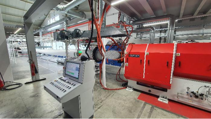 EPE and EPP foam extrusion line