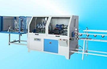 Una macchina realizzata per raddrizzare e tagliare fili, tubi e profili complessi. Le macchine sono complete di raccogli barre tagliate e le ottimizzazioni variano in base al materiale da lavorare.