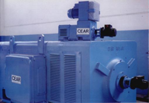 CEAR produce motori a corrente continua