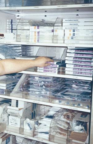 Shelf Organisation
