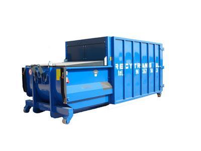 Compactadora de residuos