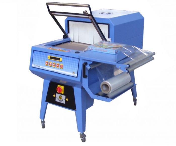 Confezionatrici Semiautomatiche Angolari con braccio saldatore manuale