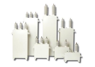 High tension power capacitor