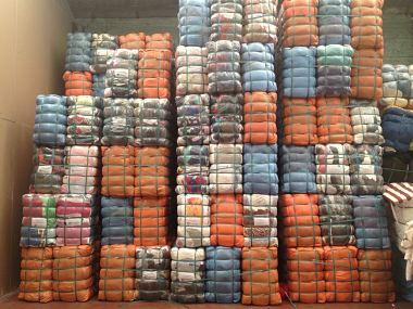 balle 55 kg second-hand clothes for export