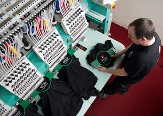 Embroidery Department. All our embroidery machines are modern and up to date (less than 3 years old) with 15 colours operated by highly professional staff within the industry.