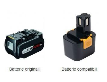 batterie originali , batterie compatibili