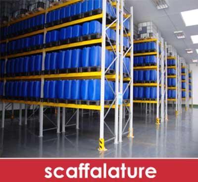 SOLAR: progettazione, preventivazione e installazione di strutture statiche per la logistica di magazzino quali scaffalature picking leggere, portapallet, cantilever e soppalchi con marcatura CE
