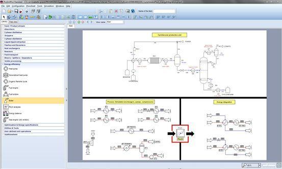 Simulation et optimisation pour l'efficacité énergétique des procédés industriels continus.