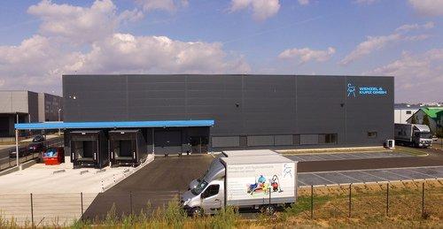 Neubau Wenzel und Kurz Logistikzentrum