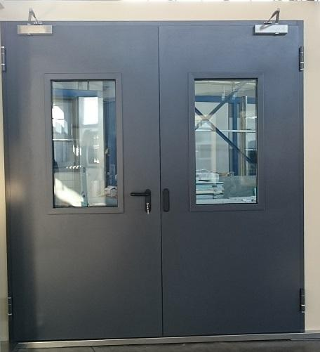Steel Fire-Proof Door Series Economy Plus