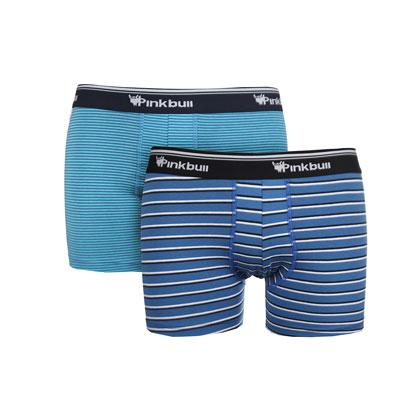 Boxer cotton strech 93% elastan 7%. Sizes: M.-L.-XL.- Pack 2 Pieces Assorted 2 colours
