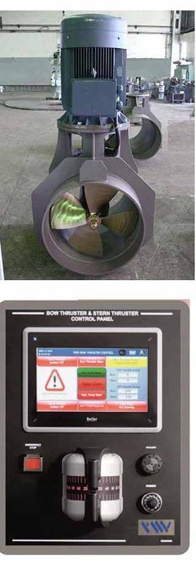YMV Electric/ Hydraulic Bow Thruster