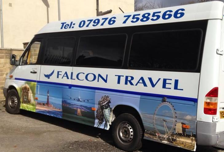 Welcome to Falcon Travel mini coach and minibus hire West Yorkshire. We are a Bradford 9 to 49 seaters