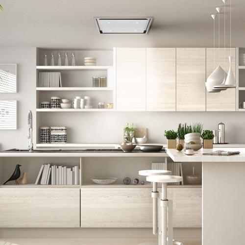 Luxair Anzi Stainless Steel Ceiling Kitchen Hood