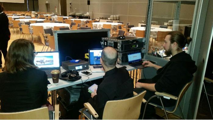 remote interpreting service Frankfurt Barcelona