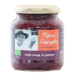 Chou rouge & pomme bio Mémé Georgette
