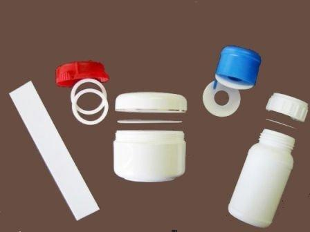 All kinds of EPE Rings and Liners for plastic cap and bottles