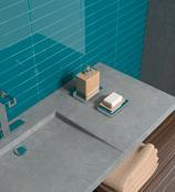 Plaqueta de azulejo rectangular que  ofrece multiples opciones decorativas.