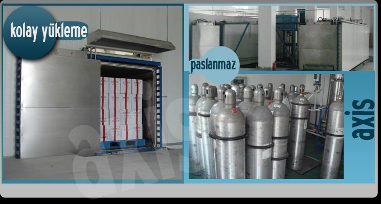 Axis Industrial Type of Ethylene Oxide Sterilizer is the fastest way to sterilize  equipments which are heat-sensitive or susceptible to moisture.