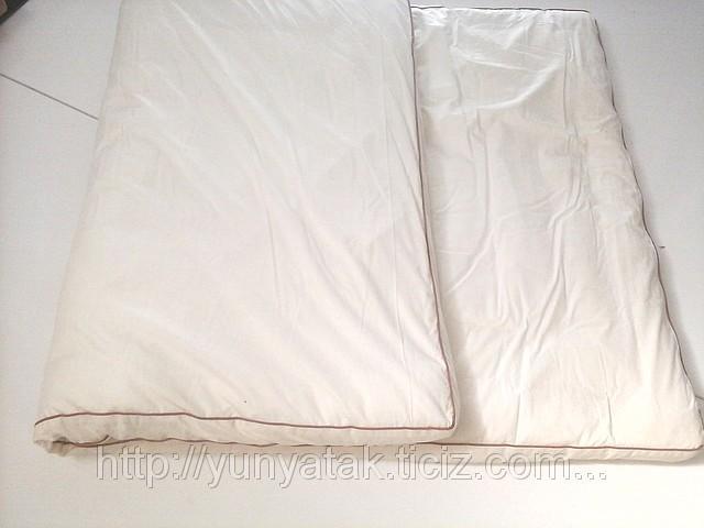 Naturel sheep wool mattress pad
