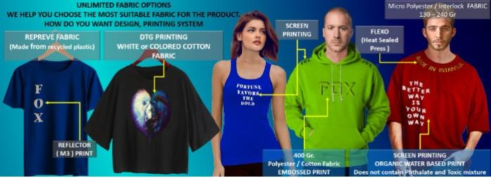 Custom production hoodie-T-Shirt and Sweatshirt manufacturing and printing