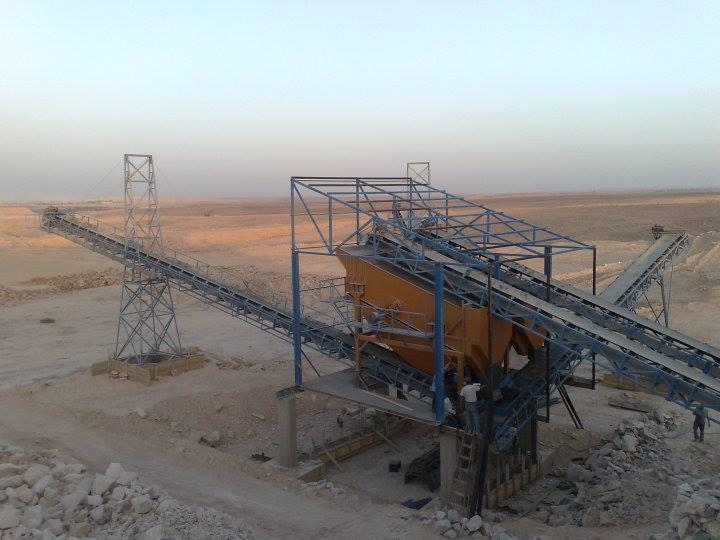 Complete Lines of Crushers , Block Machinery , Concrete Wet & Dry Plants ,  Screens , Conveyors , Feeders and Vibrators ...etc.