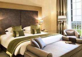Exemple de réalisation sur une chambre de l'hôtel Le Golf Lucien Barrière - Deauville