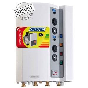 Chaudière électrique 2 ZONES de 6 à 18kW