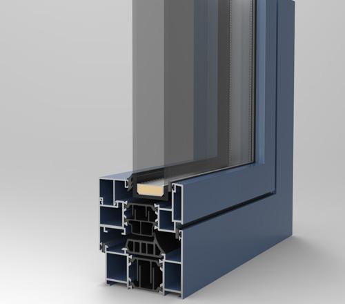 Opening aluminium system