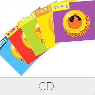 Production et création musicale de CD audio de comptines et histoires pour enfants. Coffrets CD pour des maisons de disques et livre-disque pour des éditeurs jeunesse.