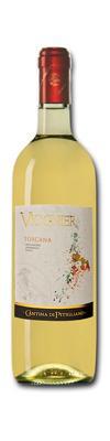 Vino ottenuto dalla vinificazione di uve Viognier, coltivate nella Maremma Toscana e vinificate in purezza, tipici sentori agrumati e di albicocca.