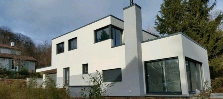 Maison en ossature bois à Bievres
