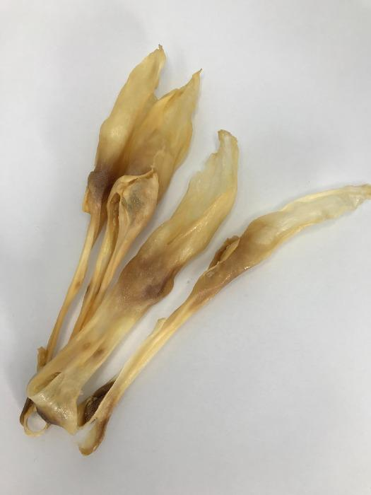 Dried rabbit ear
