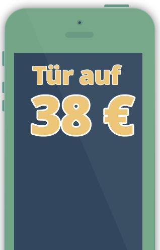 Preis für einfache Türöffnungen in Nürnberg