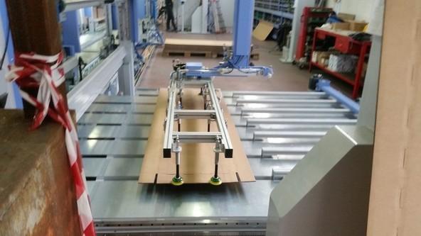 Macchina Imballatrice automatica