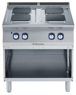 Cucina elettrica serie 700 XP con piastre in ghisa a riscaldamento rapido ed ad alto rendimento