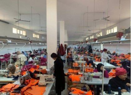Atelier de confection de vêtements professionnels