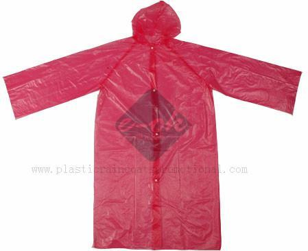 PE disposable raincoats