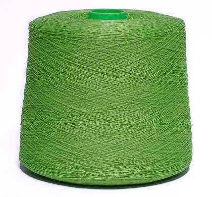 Dyed linen yarn