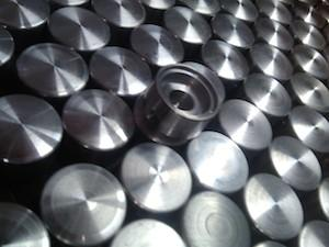 Aluminium knops