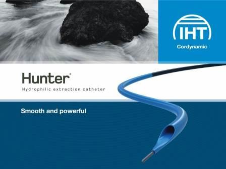Thrombus extractor. The smooth and powerful choice for big thrombus